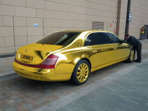 Gold polish or solid gold? Maybach