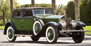 The Rolls Royce Phantom given to screen icon Marlene Dietrich in 1930