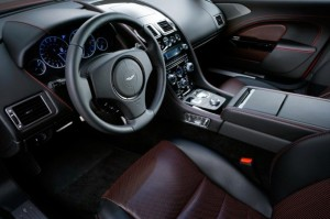 Interiors of Aston Martin Rapide S