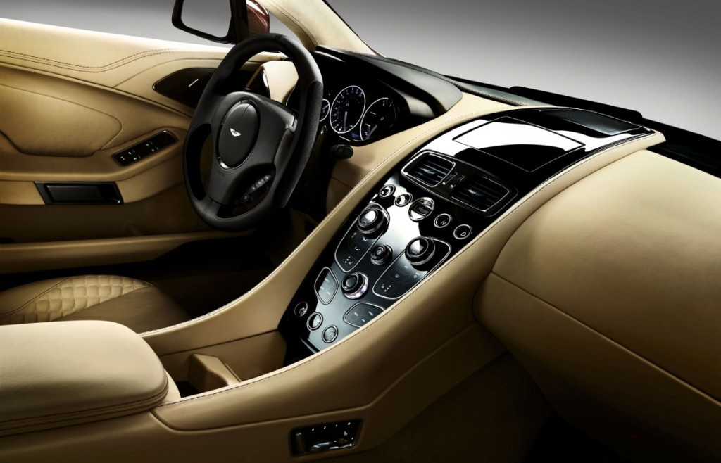 Dashboard of Aston Martin 2013