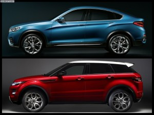 BMW X4 vs Range Rover Evoque