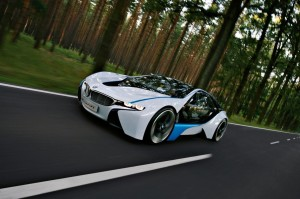 New BMW Vision Efficiency Dynamics Concept