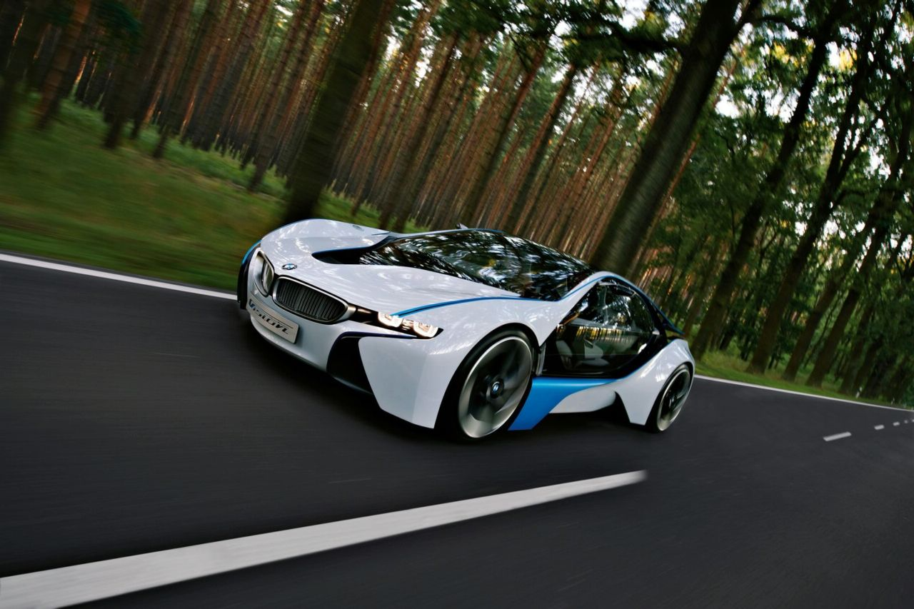 New BMW Vision Efficiency Dynamics Concept 2