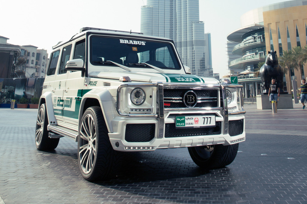Dubai-Police car