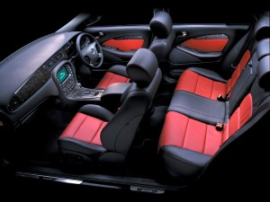 Jaguar seats and interior