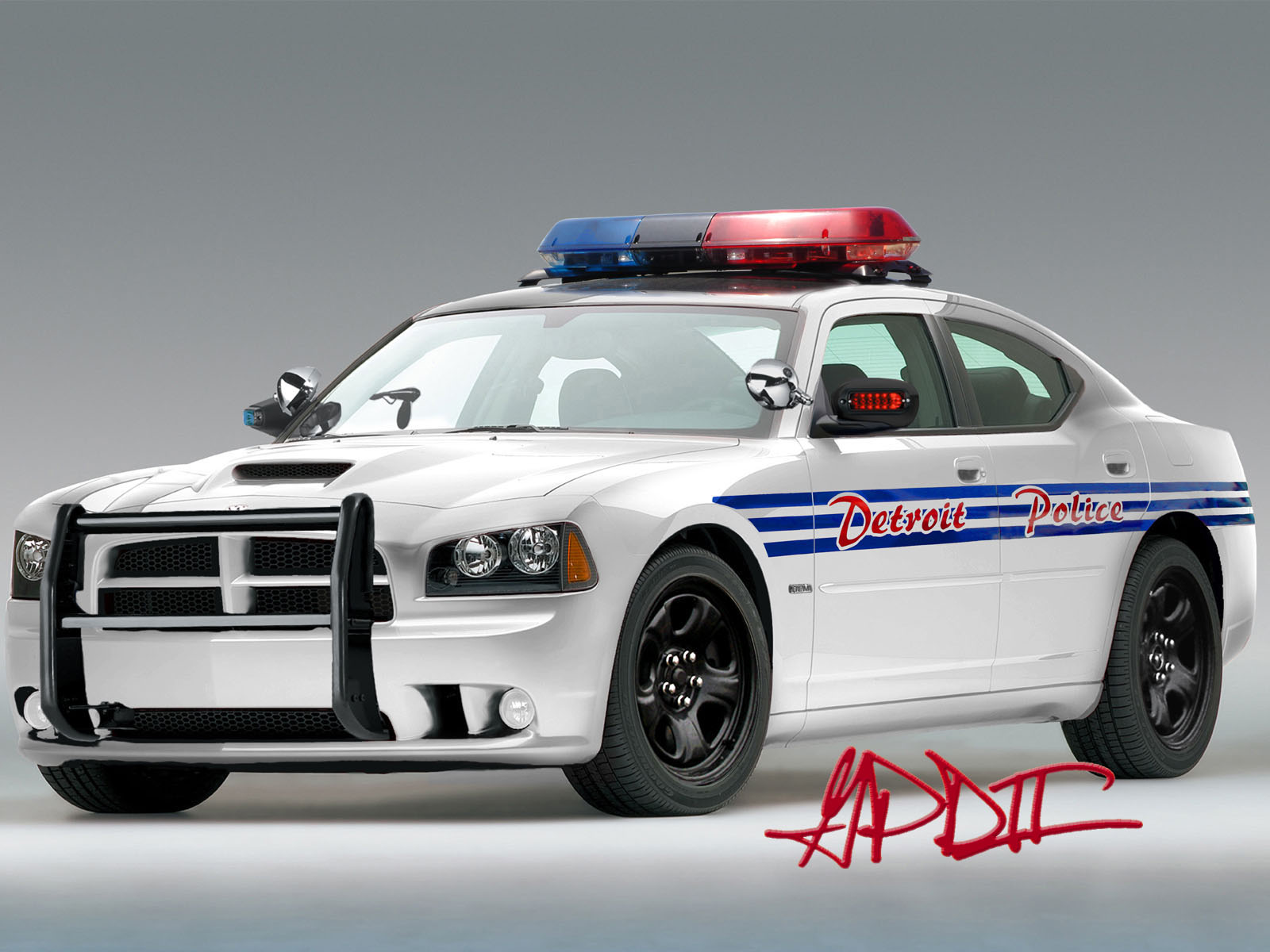 Dodge charger Police car 3
