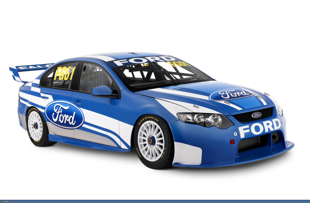 Ford Blue  speed car