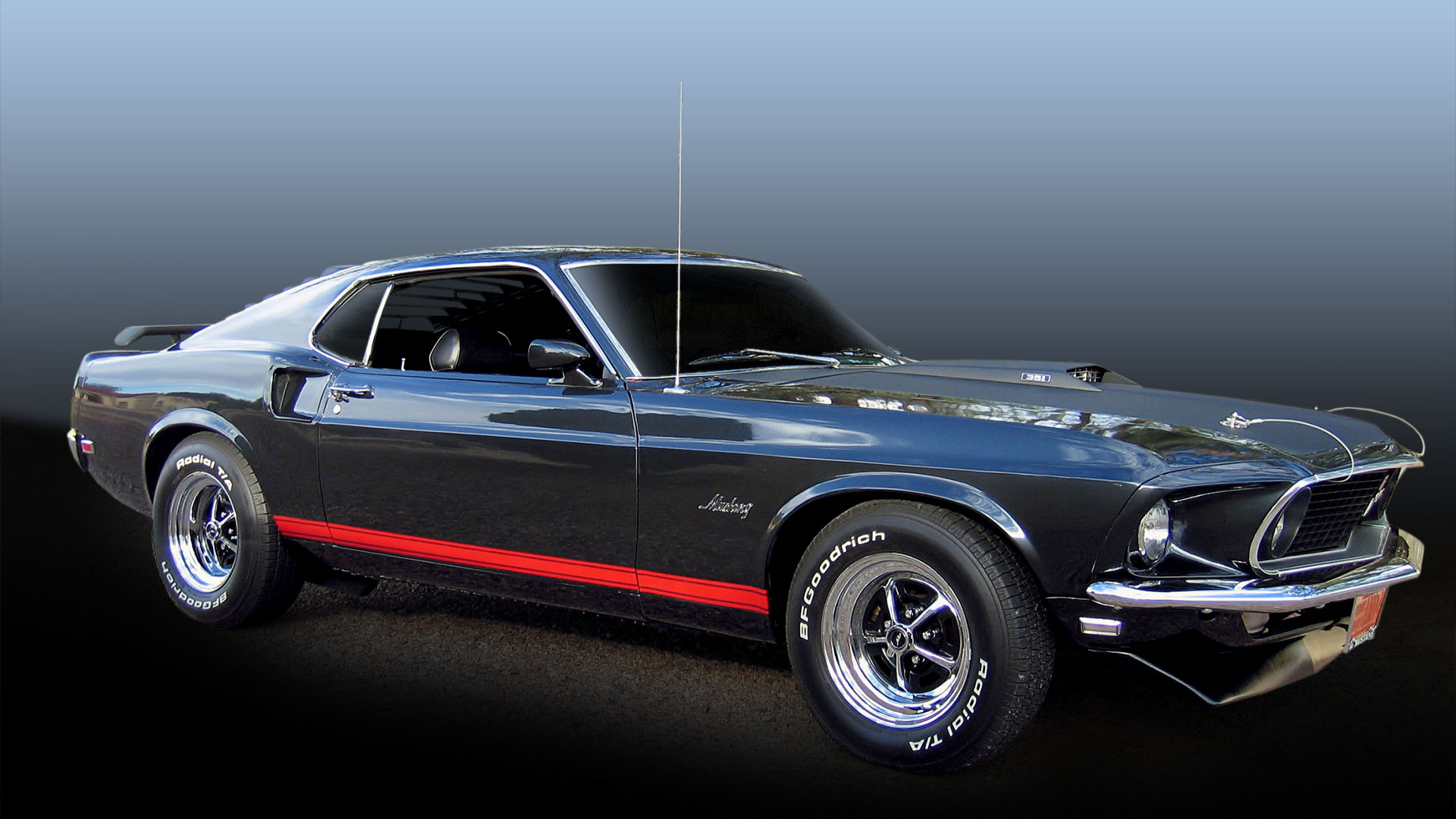 Ford sports roof Muscle car 18