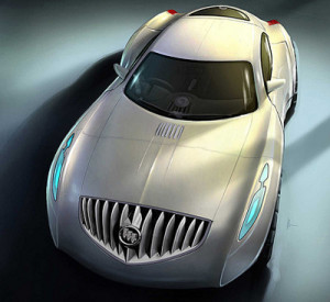 The Buick Avant, or Small Premium Buick concept which was developed by GM's designers at GM LAB