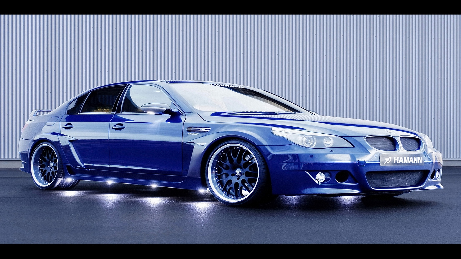 Ford car Exotic Blue Muscle Hamman BMW 11