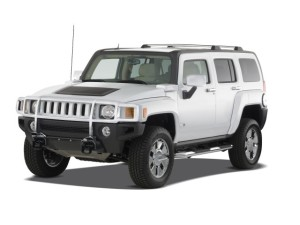 HUMMER H3 4WD 4- door SUV H3X Angular Front Exterior view
