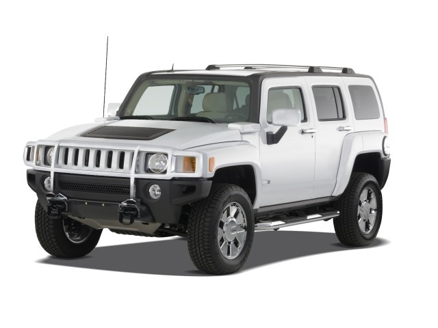 HUMMER H3 4WD 4- door SUV H3X Angular Front Exterior view 2
