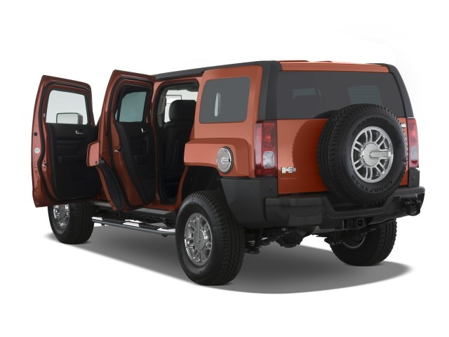 Hummer H3 4WD 4-door SUV Alpha open Doors 4