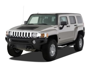 Hummer H3 4WD 4-door SUV Adventure  Angular
