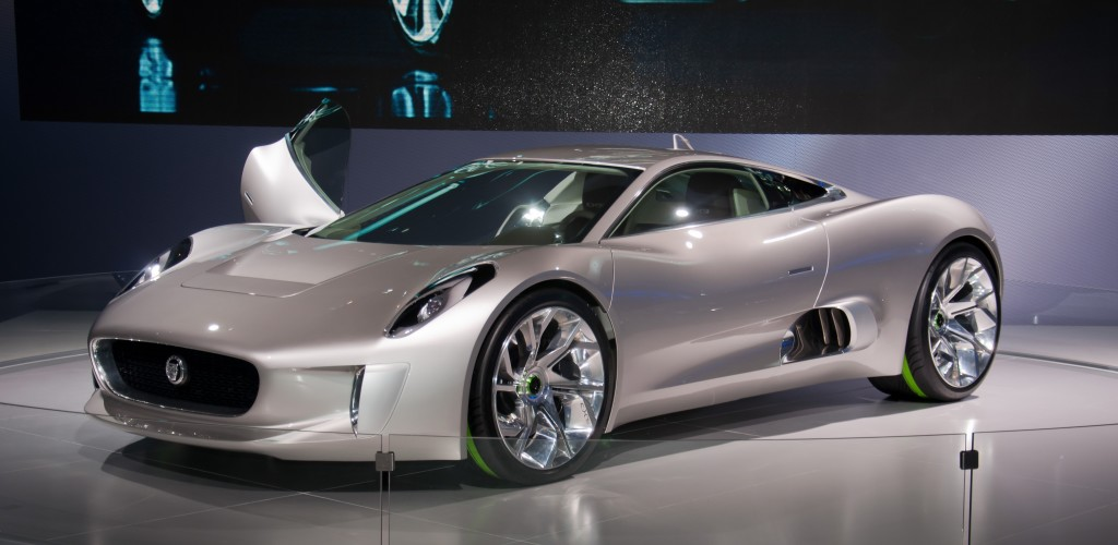 Jaguar C-X75 Electric turbine concept