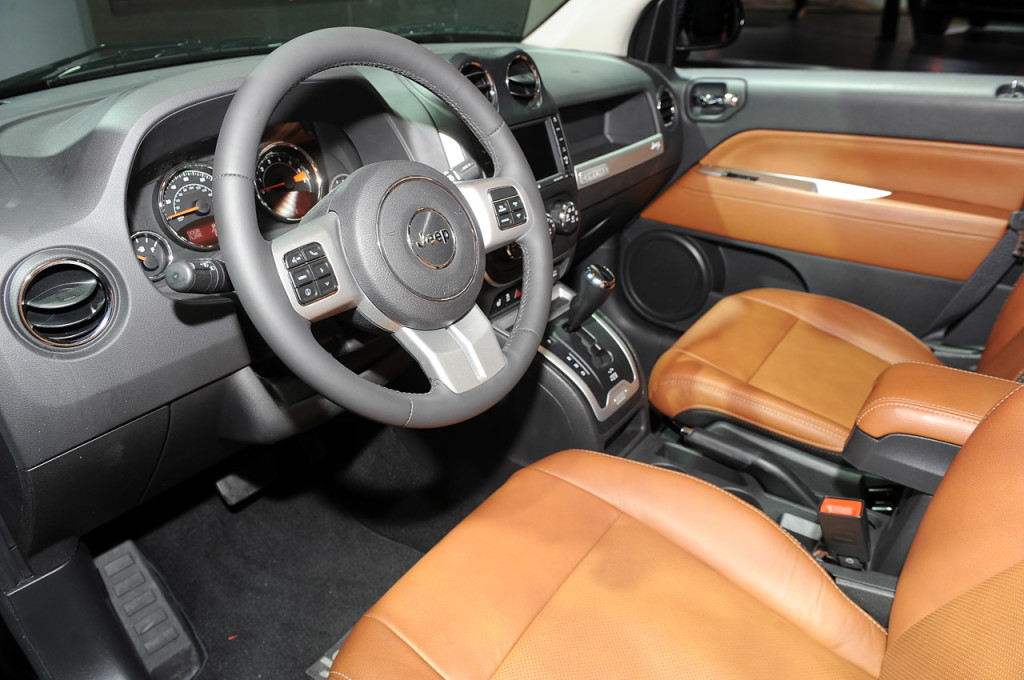Jeep Compass interiors