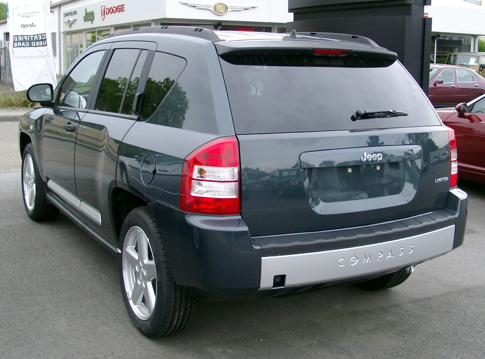 jeep compass rear 2008 pin x cars. Black Bedroom Furniture Sets. Home Design Ideas