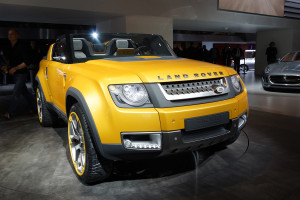 2011 Land Rover Defender Sports car