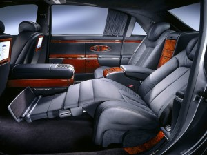 Inside of the MAYBACH