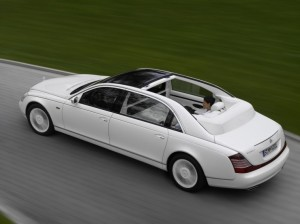 Maybach Landaulet sedan