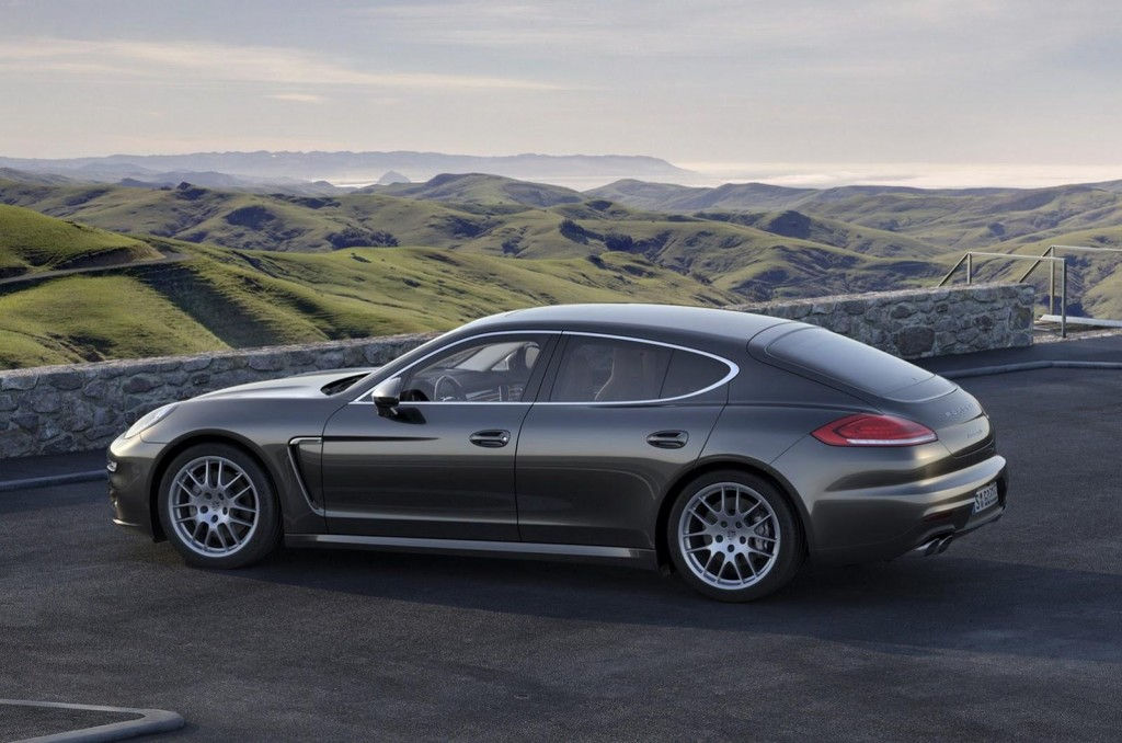 Panamera leaked images Porsche