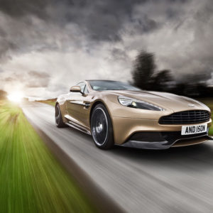 Aston Martin 2013 Vanquish Car Photography by Tim Wallace