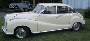 BMW 501, luxury saloon car – 1952