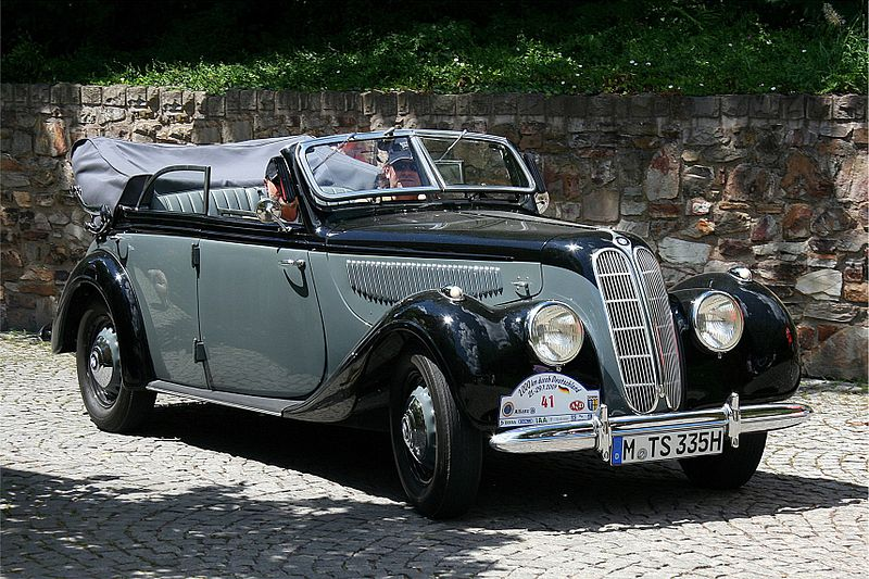 BMW 335, 4 door cabriolet – 1939