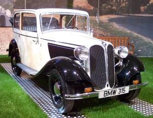 BMW 315, larger engine model – 1934
