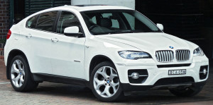 BMW X6 mid-size luxury crossover – 2008