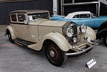 Rolls-Royce Phantom II continental sports saloon – 1930