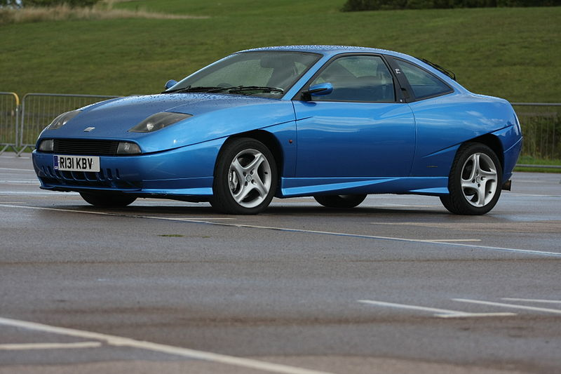 Fiat Coupe 20v Turbo model – 1998