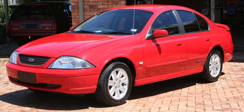Ford AU III Falcon SR Forte sedan - 2001 2