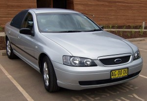 Ford BA II Falcon XT sedan – 2004