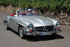 Mercedes-Benz 190SL – 1955