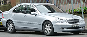 Mercedes-Benz C-class 200K sedan W203 – 2000