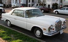Mercedes-Benz 280SE coupe – 1967