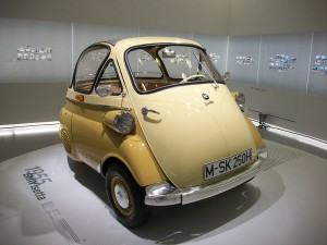 BMW Isetta 250 micro car – 1955