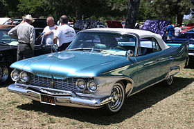 Plymouth Fury convertible - 1960 1