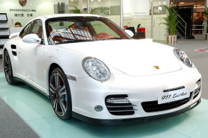 Porsche 997 Turbo in Carrara white – 2009