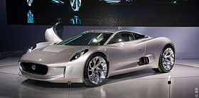 Jaguar C-X75 (production cancelled) – 2010