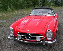 Mercedes-Benz 300SL roadster - 1957 1