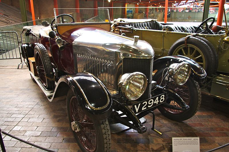 Vauxhall Prince Henry 4-seater – 1915