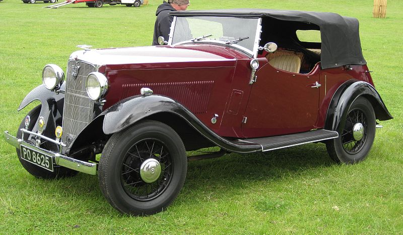 Vauxhall 14-6 4-seater sports – 1933