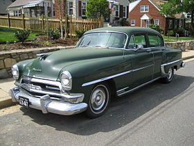 Chrysler Windsor – 1953
