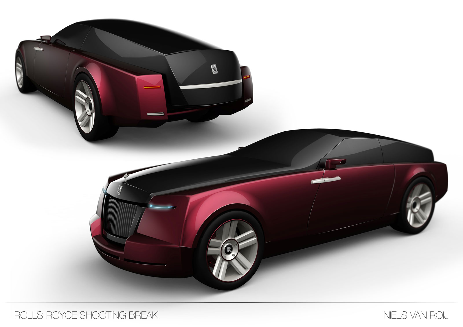 Rolls Royce with Royal look 20