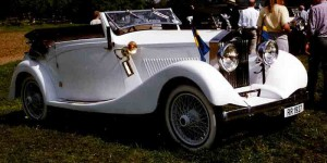 Rolls-Royce drophead coupe white – 1927