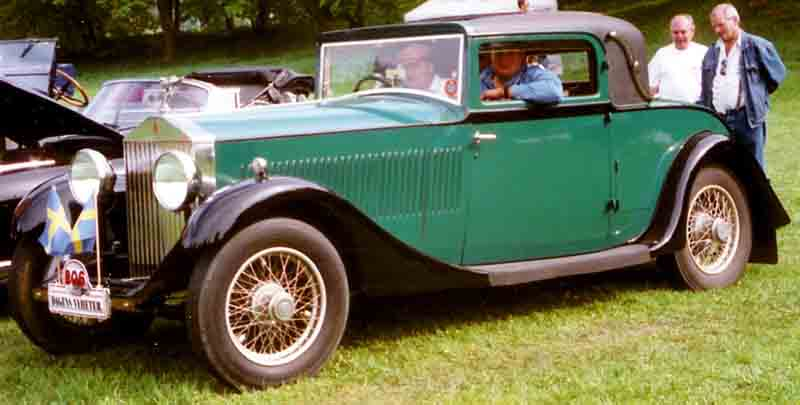 Rolls-Royce 20/25 coupe - 1932 6