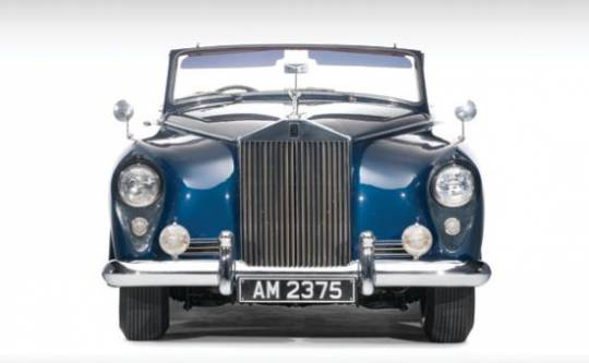 "Vintage Rolls-Royce ""Honeymoon Express"" is one of only two Silver Clouds produced"