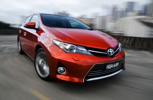 The New Toyota Corolla 2014